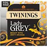 Twinings Lady Grey Teabags 100 250g