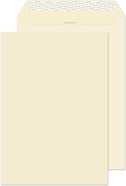 120 g//mq con busta Blake-Busta da visita Confezione da 20 colore: panna formato C4 324 x 229 mm