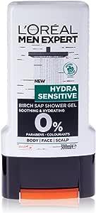 L'Oréal Paris Men Expert Sensitive Birch Sap Shower Gel 300ml