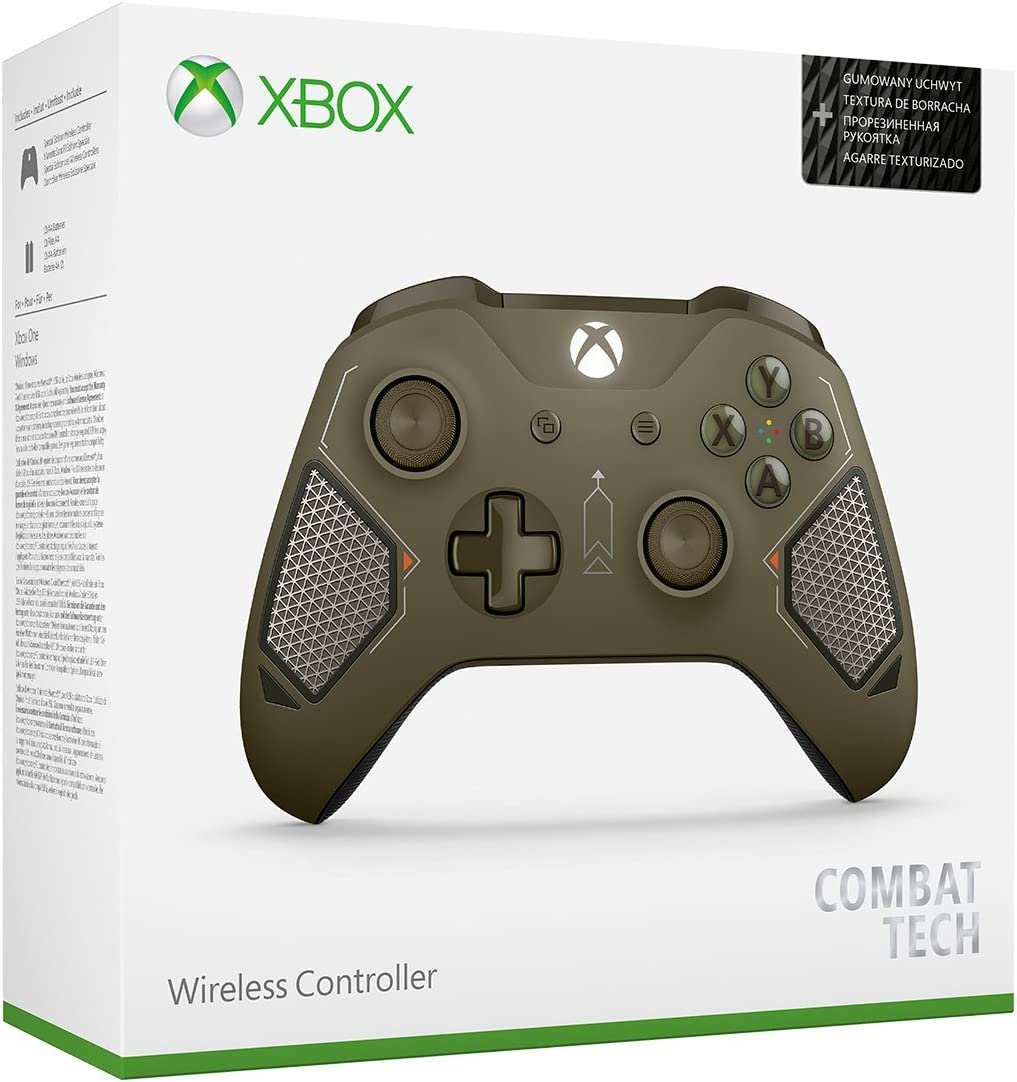 Amazon com: Xbox Wireless Controller - Combat Tech Special
