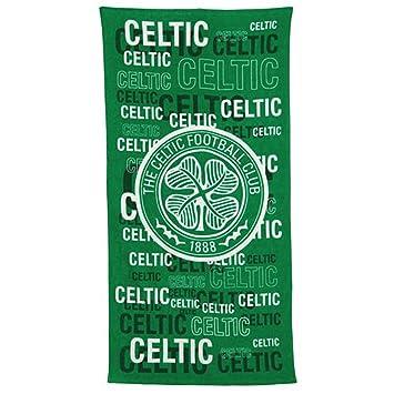 Celtic FC Bath Towel, Green