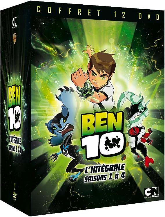 Ben 10 L Integrale Saisons 1 A 4 Dvd Blu Ray Amazon Fr