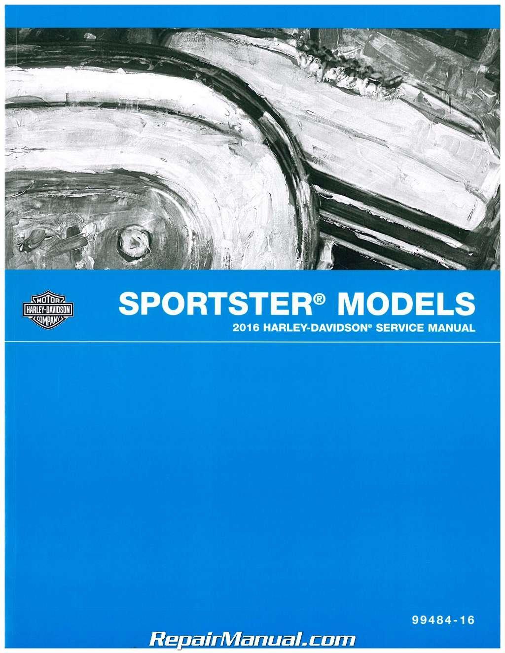 Harley-davidson sportster motorcycle (2004-2013) service repair manual.