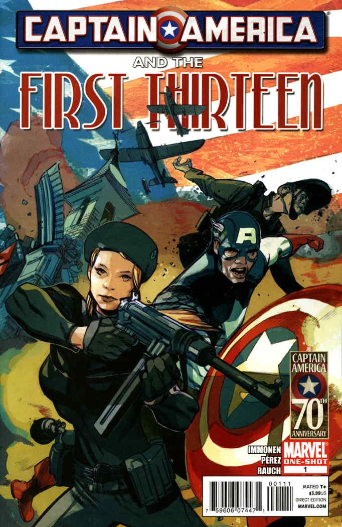 Captain America and the First Thirteen #1 Text fb2 ebook
