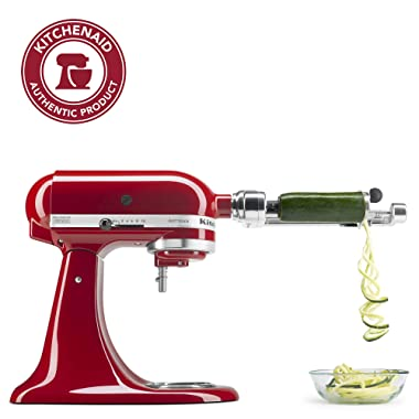KitchenAid KSM1APC Spiralizer Attachment, 1 , Silver