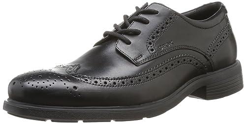 Geox U DUBLIN B Scarpe eleganti uomo Nero BLACKC9999 40