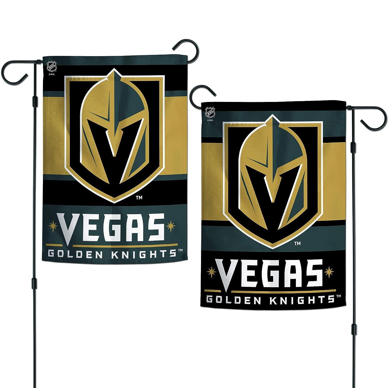 """WinCraft Vegas Golden Knights 2-Sided 12"""" x 18"""" Garden Flag"""