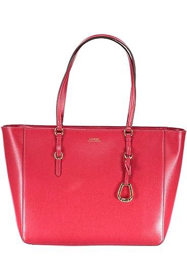 RALPH LAUREN 431687507004 BENNINGTON Bag Women ROSSO RED UNI  Amazon.co.uk   Shoes   Bags 6bda80b744