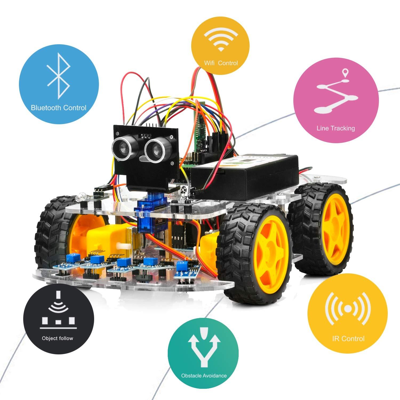 Robot Educativo para armar y programar en Arduino OSOYOO e