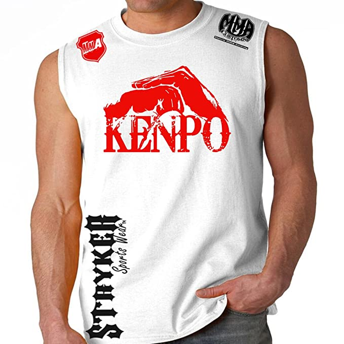 4717bc571dba7 Kenpo Style Stryker Muscle Sleeveless Tank Top Shirt Shirt UFC w FREE  Tapout Sticker at Amazon Men s Clothing store