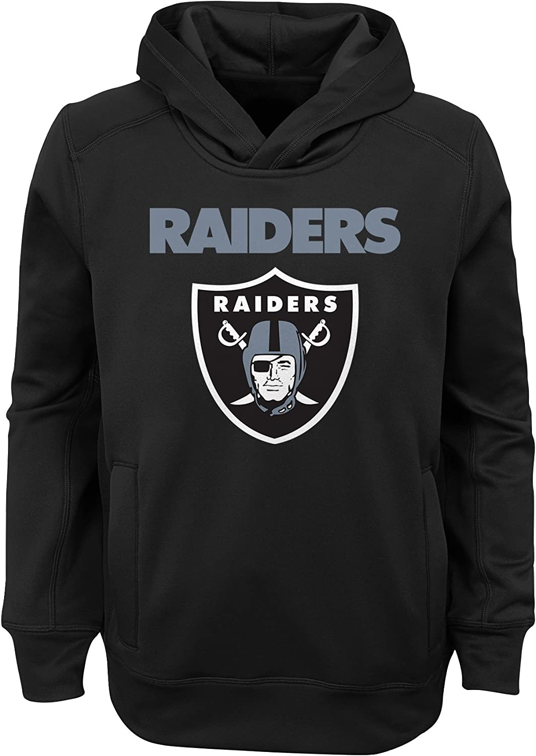 Outerstuff NFL boys Youth Boys goal Line Stand Performance Fleece Hoodie