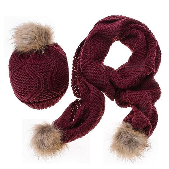 Outflower - bufandas y sombreros te dan un cálido invierno para las niñas   Amazon.es  Ropa y accesorios 51e37d47e77