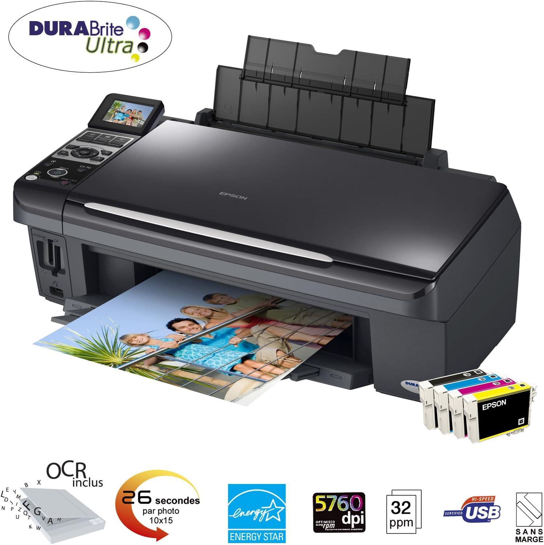 Epson Stylus DX8450 - Impresora multifunción (Inyección de Tinta ...