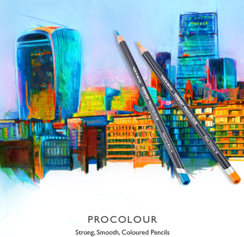 lot de 36 Derwent Procolour Crayon /Étain