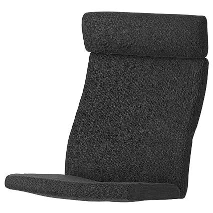 IKEA ASIA POANG - Cojín para sillón, Color Gris Antracita ...