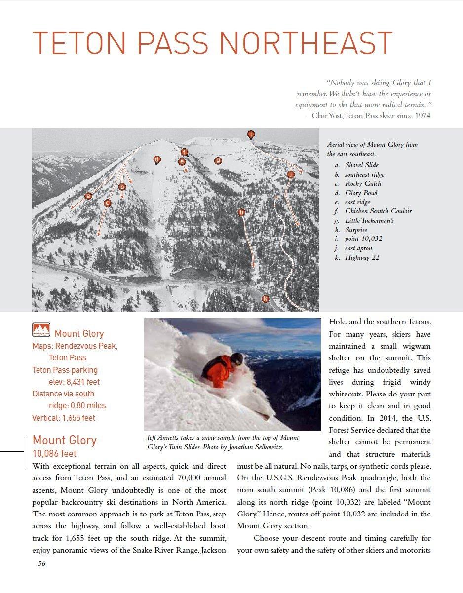 Teton Pass Backcountry Guide: Thomas Turiano, Jonathan Selkowitz ...
