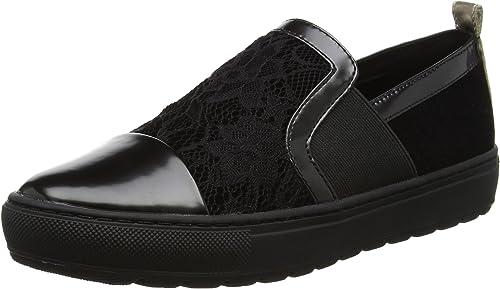 Geox D Breeda A Sneakers Basses Femme, N