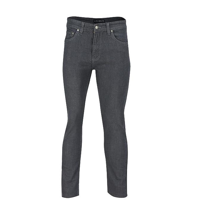 Mens New G72 Super Stretch Skinny Slim Fit Denim Jeans Pants Cotton Trousers
