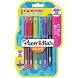 Paper Mate Inkjoy Gel Pen Capped Pack of 6 Student Fun Colours