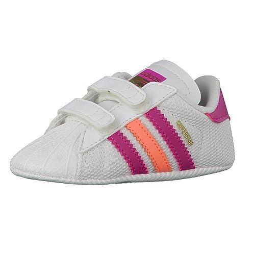best service 61b23 14133 adidas Superstar Crib, Zapatillas Unisex bebé Amazon.es Zapatos y  complementos