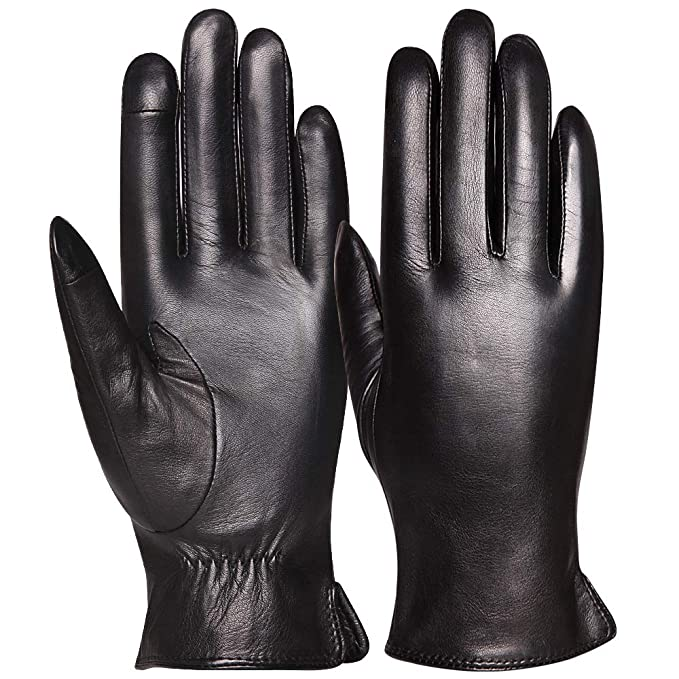 Amazon.com: Guantes de invierno para mujer, cálidos guantes ...
