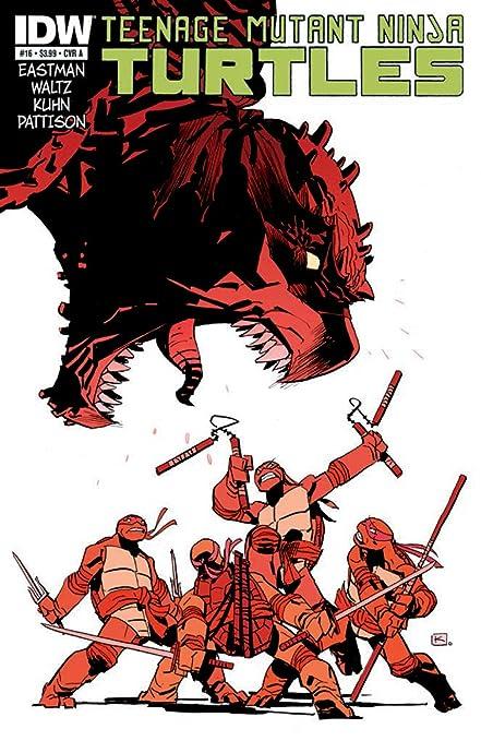 Teenage Mutant Ninja Turtles #16 Cover A Comic Book - IDW