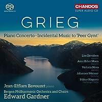 Grieg: Piano Concerto [Jean-Efflam Bavouzet; Bergen Philarmonic Orchestra and Choirs; Edward Gardner] [Chandos: CHSA 5190]