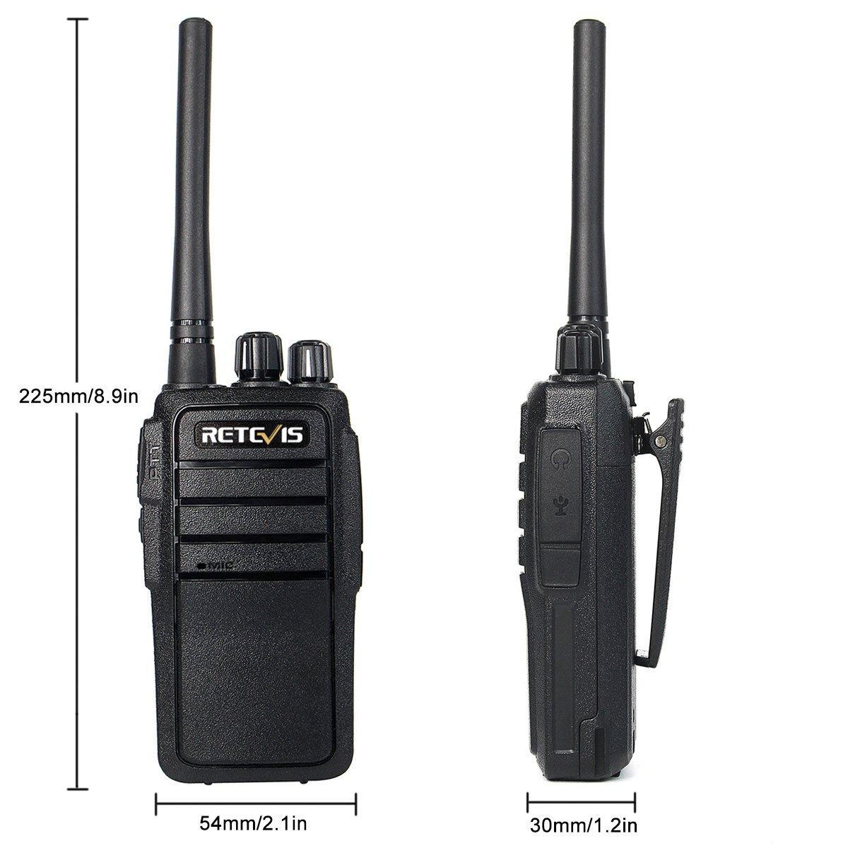 Retevis RT21 Two Way Radio Long Range Walkie Talkies Rechargeable Two Way Radios Long Range FRS Radio UHf Radio 2 Way Radios Walkie Talkies with 5-Port USB Charger 5687E58B18DDA53E 5 Pack
