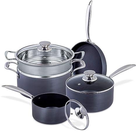 Amazon.com: Juego de utensilios de cocina de aluminio ...
