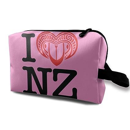 I Love New Zealand Bolsas de Maquillaje de Viaje Bolsa de ...