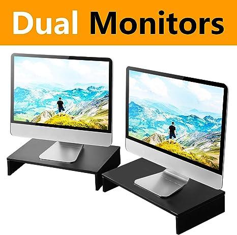 RFIVER 2 Soporte Monitor Elevador Pantalla Ordenador Portátil CM1006: Amazon.es: Informática