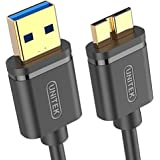 Unitek Y-C461GBK USB 3.0 Type-A (Male) to Micro-B (Male) Cable, 1 m Length, Black