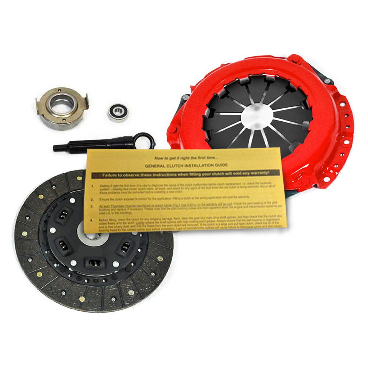 Amazon.com: EFT STAGE 2 CLUTCH KIT FOR 1999-2001 SUZUKI VITARA 1.6L: Automotive