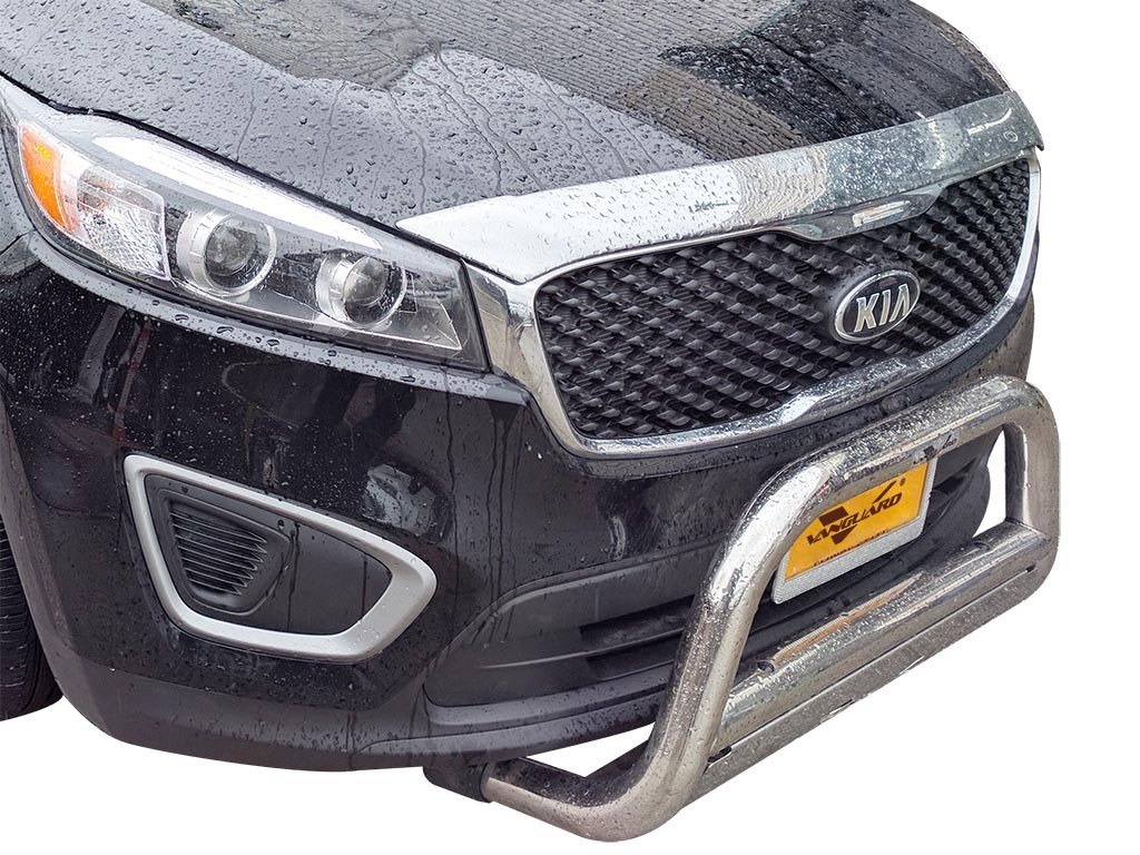 Amazon com vanguard vgubg 0883 1013ss 2014 2017 kia sorento bull bar w skid plate s s automotive