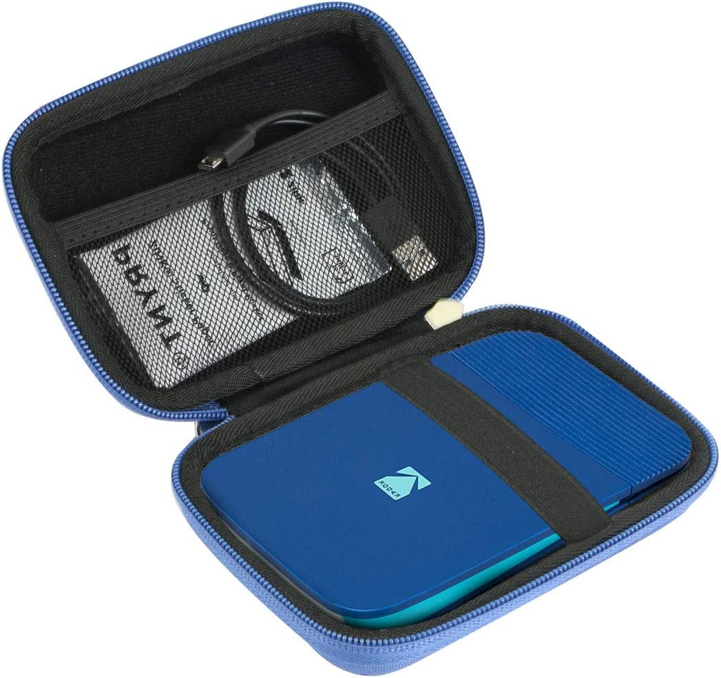Khanka Hard Travel Case Replacement for Kodak Smile Instant Print Digital Camera (Blue)