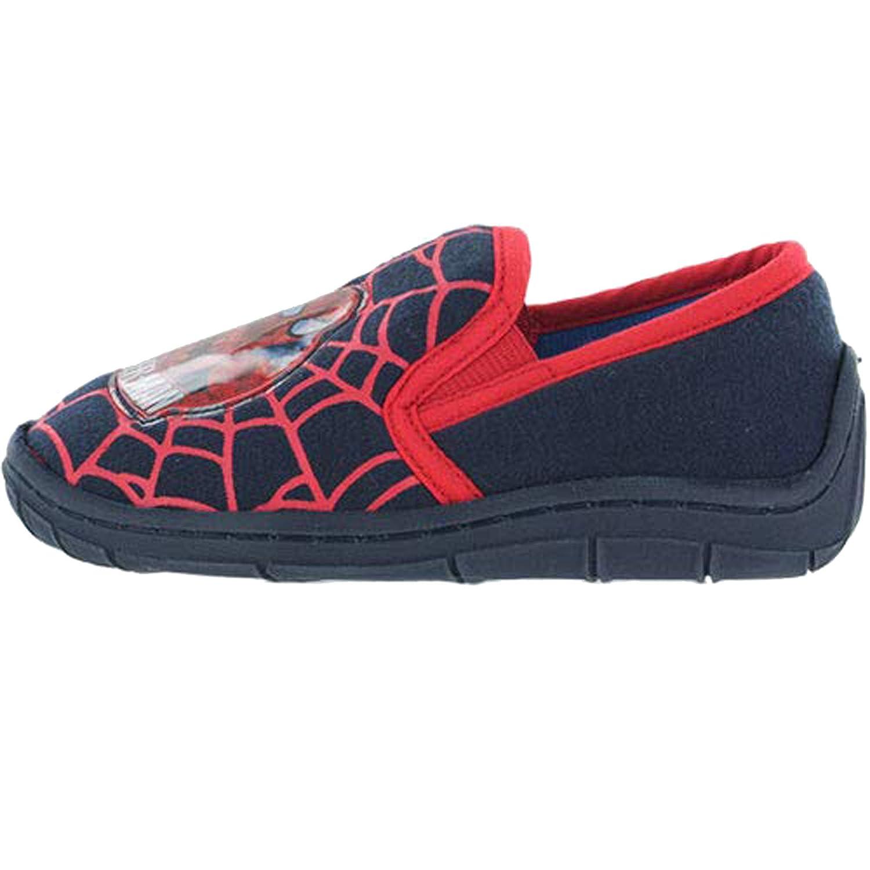Marvel Boys Spider-Man Easy Slip On House Slippers 12 Child UK