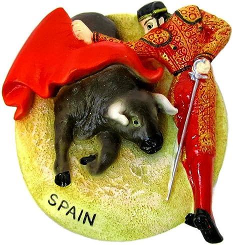 Souvenir España yeso imanes de viaje Souvenir imanes para nevera las corridas de toros): Amazon.es: Hogar