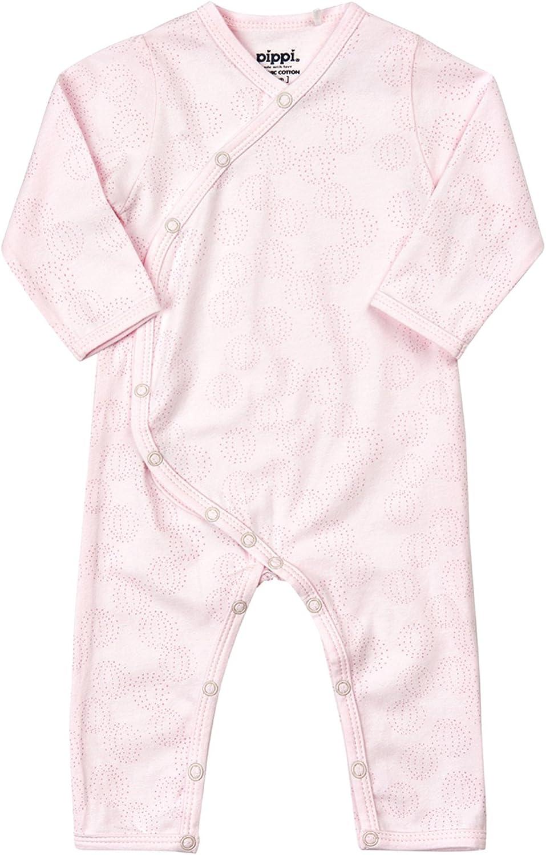 Pippi Baby M/ädchen Schlafanzug Gr.68-86 Strampler Overall Bio Baumwolle