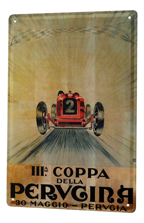 Cartel Letrero de Chapa XXL Nostalgic Retro Coche  Hot Rod garage
