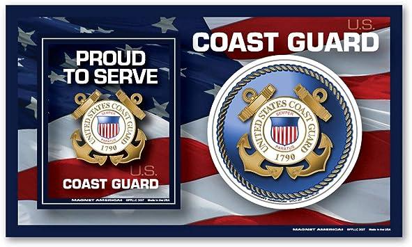Amazon Com Coast Guard Photo Frame Indoor Magnet Automotive