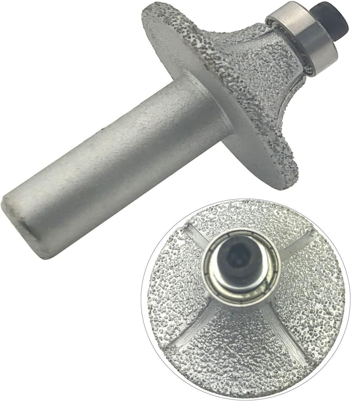 "1//2/"" Diamond Router Bits Wheel For Marble Granite Hand Profiler Half Bullnose"