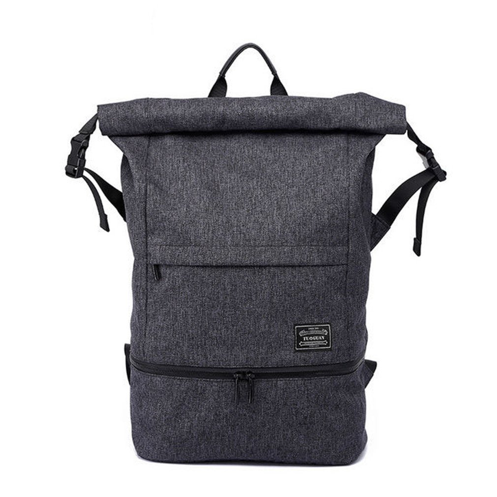 08f349b2716 Amazon.com  Men Anti-Theft Travel Backpack Gym Bag With Independent Shoes  Pocket Waterproof Men Sport LapBag Rucksack HY091 Black  Sports   Outdoors