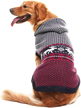 XL M KNITTING PATTERN FOR A SANTA CHRISTMAS  DOG COAT /& HAT L 4 sizes S