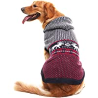 SCENEREAL Dog Jumpers Christmas Sweaters Winter Knitwear Xmas Clothes Classic Warm…