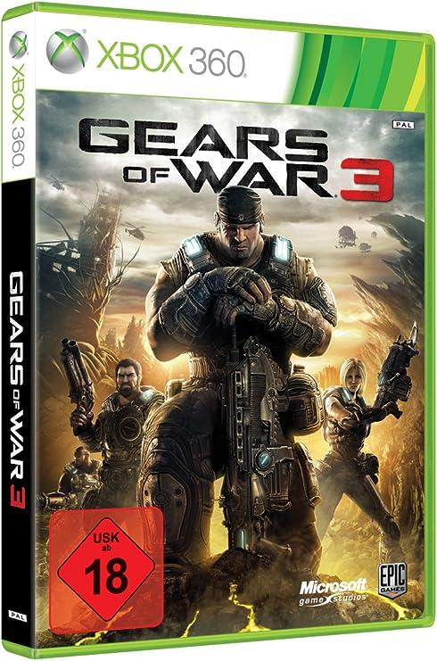 Microsoft Gears of War 3, Xbox 360, DEU - Juego (Xbox 360, DEU, Xbox 360): Amazon.es: Videojuegos