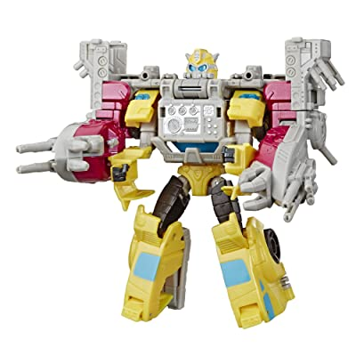 Transformers Toys Cyberverse Spark Armor Bumblebee Action Figure - Combines with Ocean Storm Spark Armor Vehicle to Power Up - for Kids Ages 6 and Up, 5.75-inch: Toys & Games
