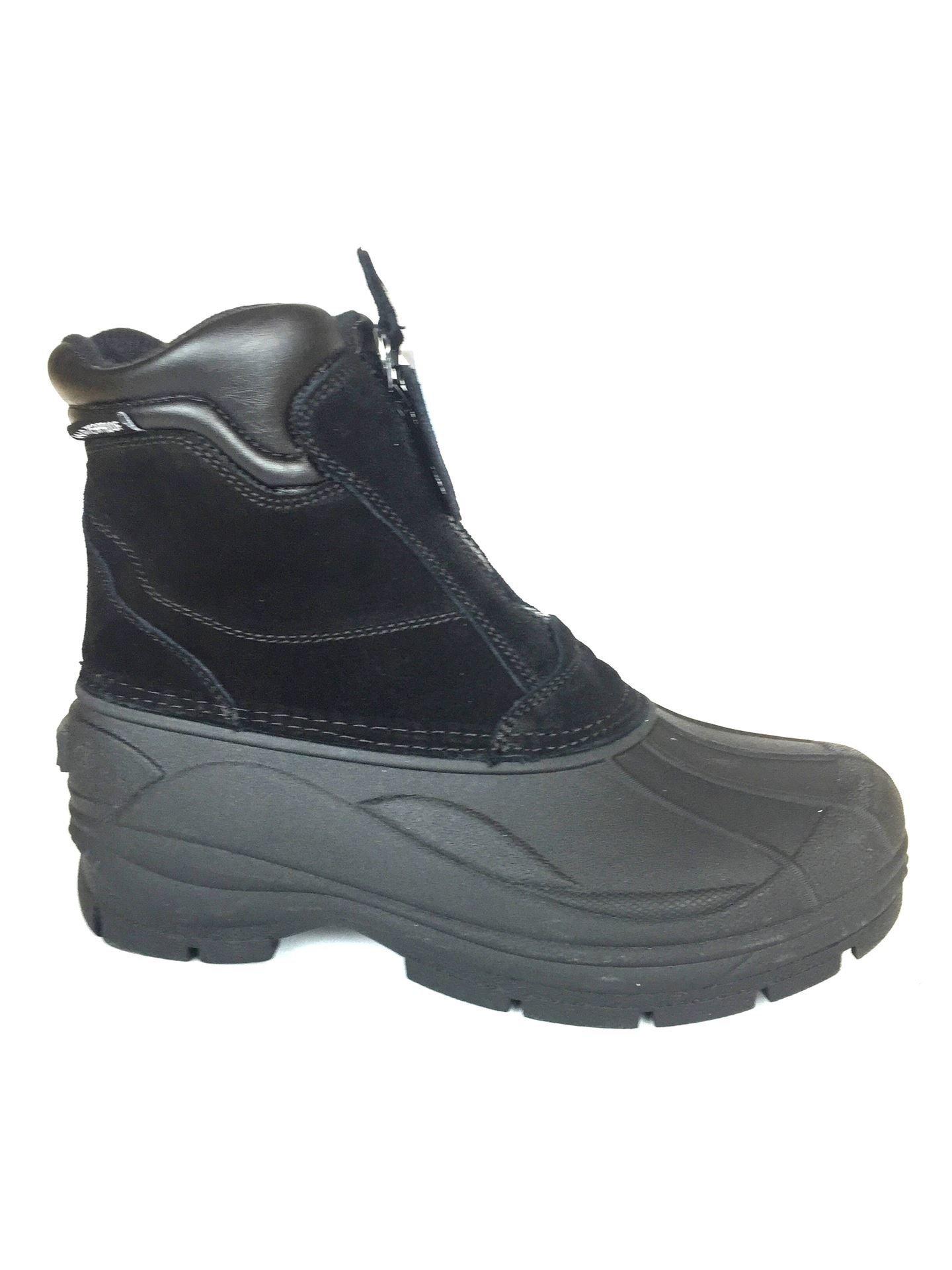 6'' Duck Snow Boot Black Color Size 106A- 6