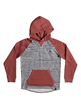 9412465f5518 Quiksilver Stimpies - Hoodie for Boys 8-16 EQBFT03427  Quiksilver   Amazon.co.uk  Clothing