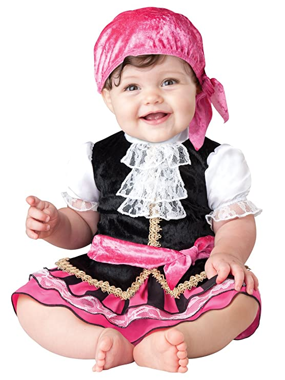 Amazon.com InCharacter Baby Girlu0027s Pretty Little Pirate Costume Clothing  sc 1 st  Amazon.com & Amazon.com: InCharacter Baby Girlu0027s Pretty Little Pirate Costume ...
