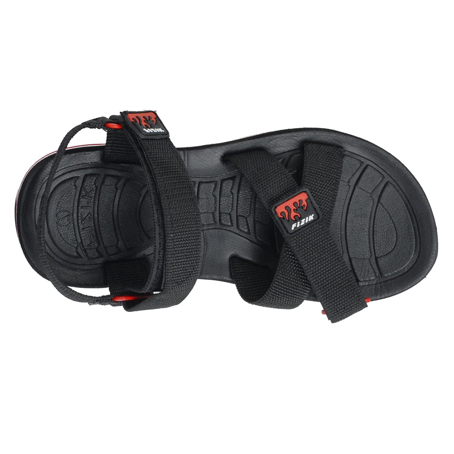 Fizik Casual Athletic Outdoor Sandals For Men Black Red Buy Introduction To 7400 Series Digital Logic Devices Fizix Online At Low Prices In India